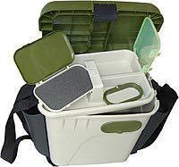 Ящик зимний, рыбацкий, с боковыми карманами для снастей