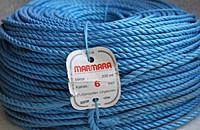 Фото полипропиленовая крученная верёвка marmara Верёвка полипропиленовая, крученая, мармара, 6