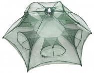 Фото Рыболовные сети; одностенки, трехстенки; экраны, финки ;косынки, куклы; полотна; ятеря; раколовки,, раколовка зонт Раколовка зонт 10 входов
