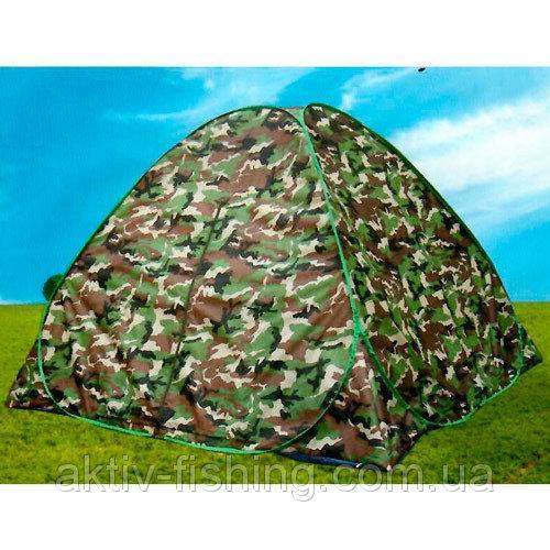 Палатка автомат, камуфляж  2 x 2