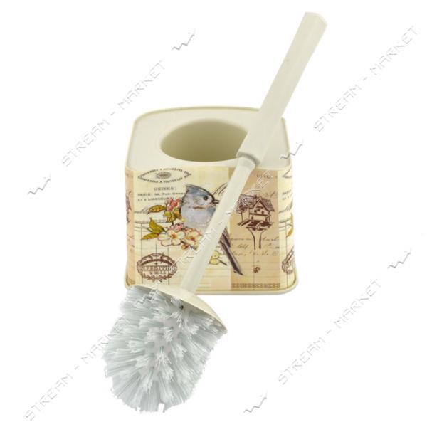 Ершик пластиковый (стакан ершик) 'Попугай' Турция