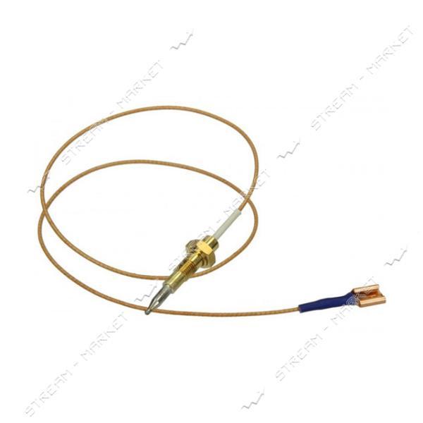Термопара для духовки/гриля газовых плит Ariston/Indesit L=1200мм М8 (без резьбы)