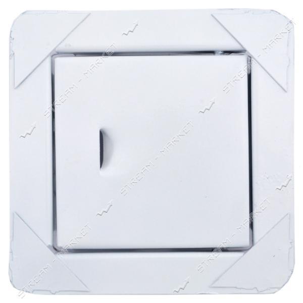 Сажетруска стальная крашенная белая 100*100 мм.