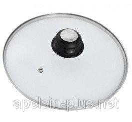 Фото Кухонные принадлежности Крышка стеклянная для посуды 34 см с ручкой
