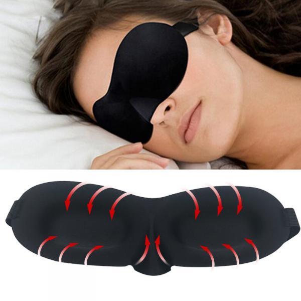 3D очки маска повязка для сна + беруши