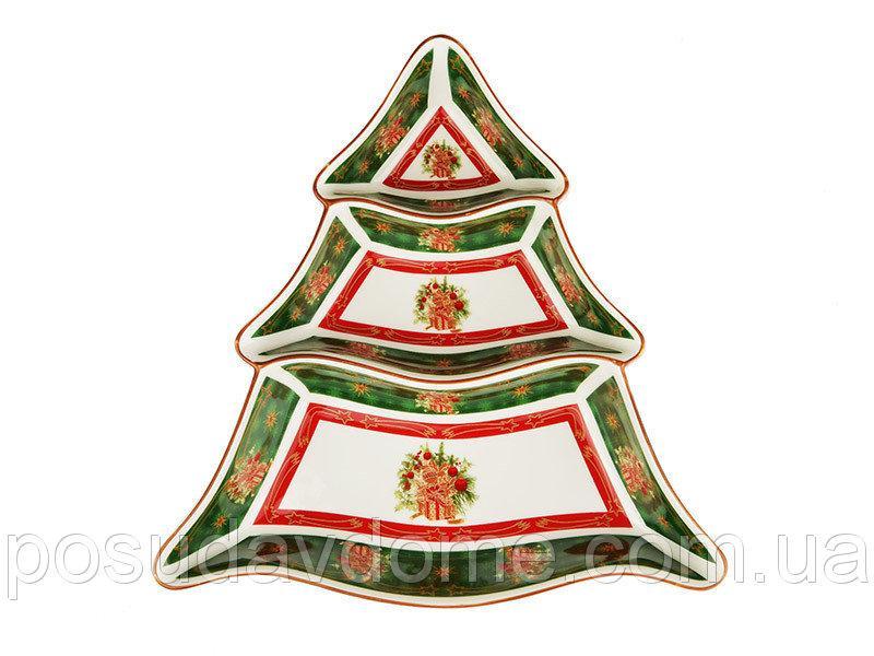 "Менажница ""Christmas collection"" 24*24 см, Lefard, 986-039"