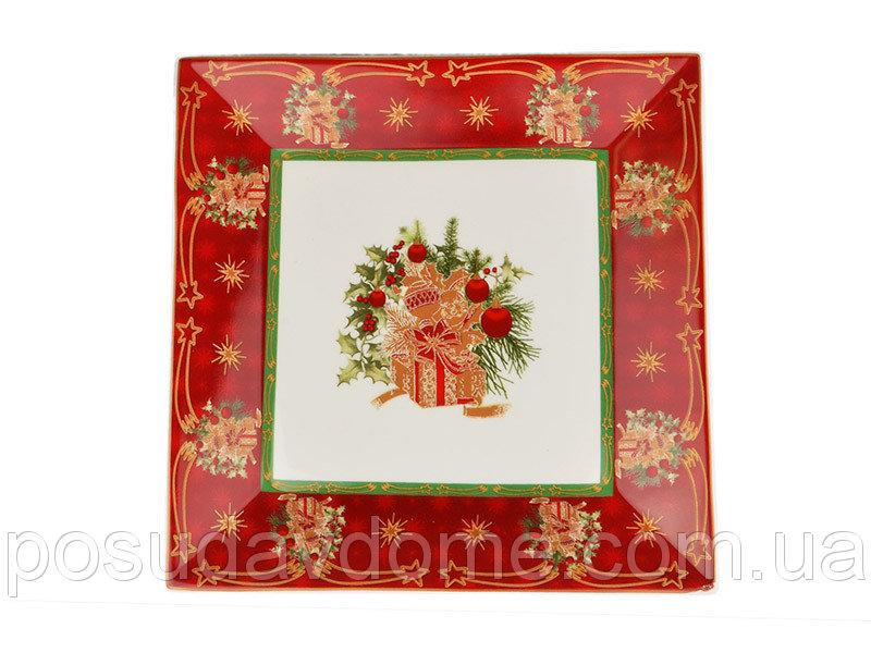 "Блюдо ""Christmas collection"" 22*22 см, Lefard, 986-044"