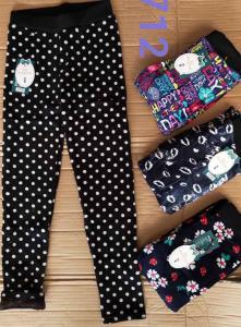Фото Джинсы, лосины, штаны Лосины велюровые на меху от 6 до 10 лет