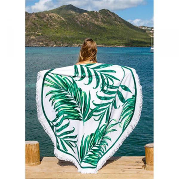 """Пляжный коврик """"Пальмовые листья"""""""