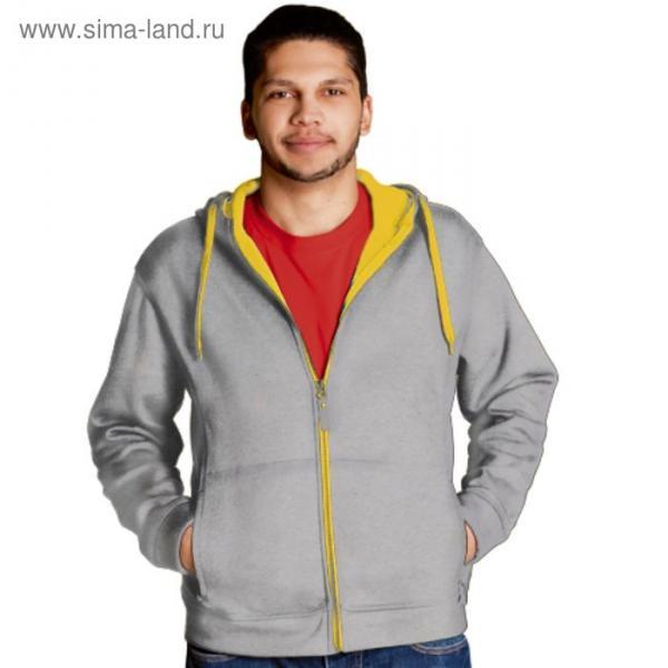 Толстовка мужская StanWinner, размер 54, цвет серый меланж 320 г/м