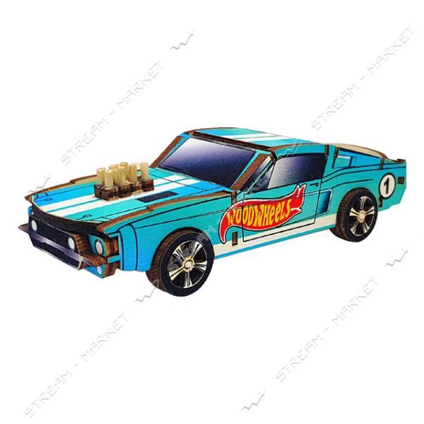 Набор-конструктор Wood Weels Mustang-Color