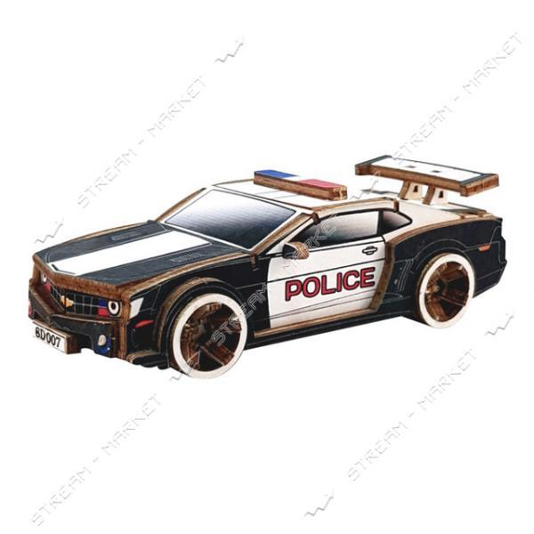 Набор-конструктор Wood Weels Police-Color