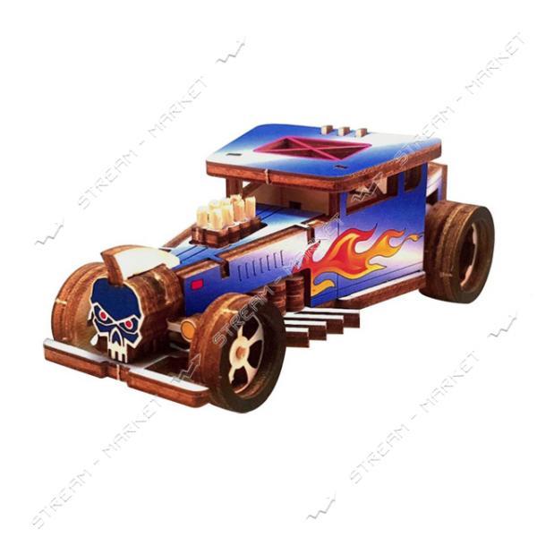 Набор-конструктор Wood Weels Roadster-Blue