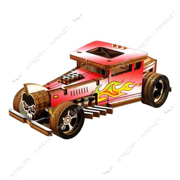 Набор-конструктор Wood Weels Roadster-Red