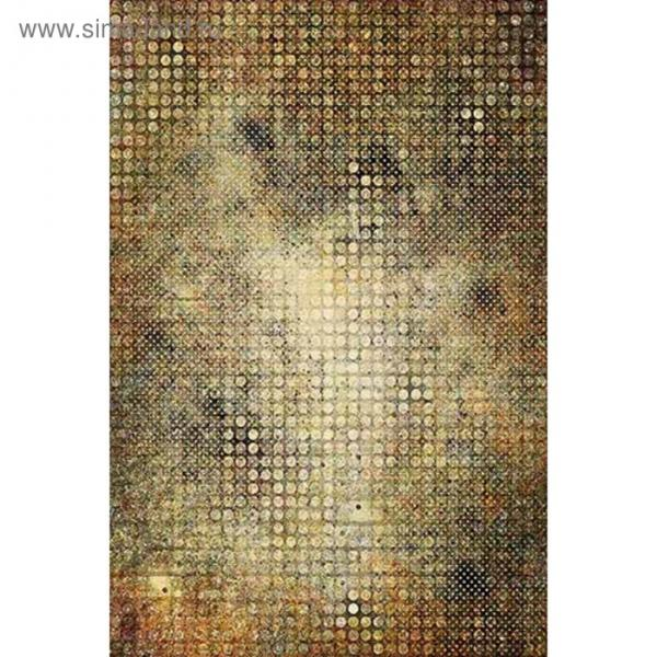 Ковер Fraise CRYSTAL C037, 1,6 × 2,3 м, прямоугольный, MULTICOLOR