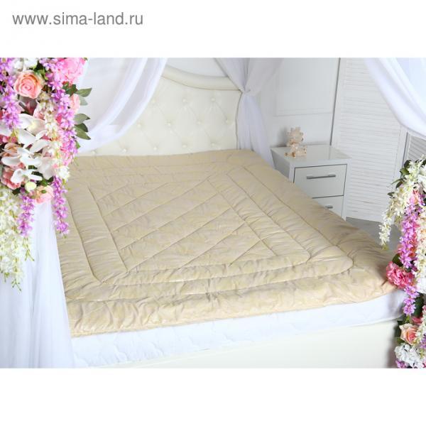 Одеяло Овечка Комфорт 175х205 см шерсть/иск.лебяжий пух 150 гр/м2, микрофибра, пэ 100%