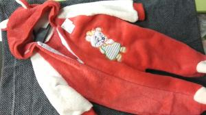 Фото Костюмы, комбинезоны, человечки малышам (0-2года) Комбинезон махра мишка цвета в ассортименте 6-9 мес