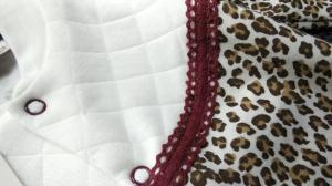 Фото Костюмы, комбинезоны, человечки малышам (0-2года) Человечек утепленный Леопардик, 62 см