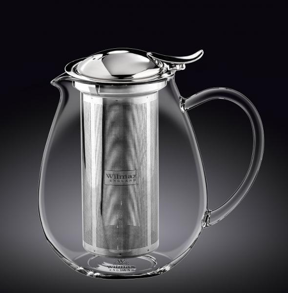 Чайник заварочный WILMAX Termo Glass 1300 мл WL-888803