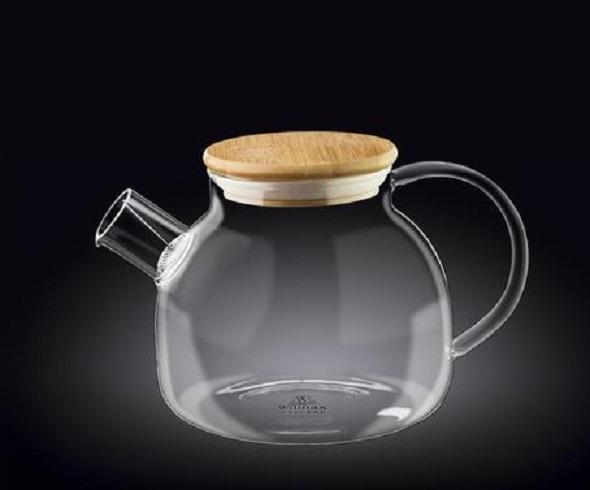 Чайник заварочный WILMAX Termo Glass на 950 мл. со спиральным фильтром