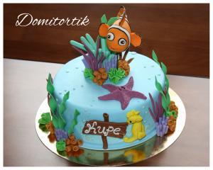 Фото Торты, Детские торты Торт Немо (Nemo)