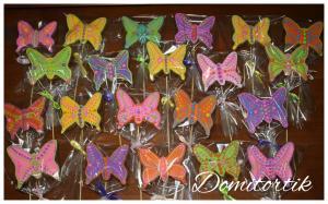 Фото Пряники Пряники Бабочки (Метелики)