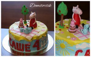 Фото Торты, Детские торты Торт Свинка Пеппа (Peppa Pig)
