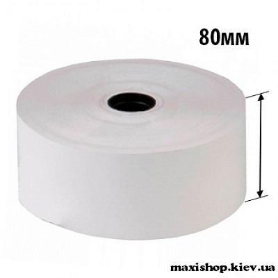Лента термо 80мм х 80мм диам. х 12мм втулка (3 шт. в упаковке)