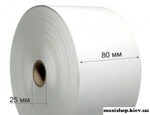 Лента для банкомата термо 80 х 175мм х 25 (4 шт в упаковке)