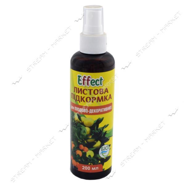 Effect Подкормка листовая для плодово-декоративных (спрей) 200мл