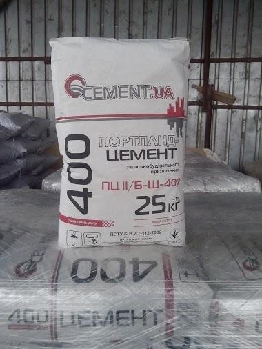 Цемент марка 400 портландцемент