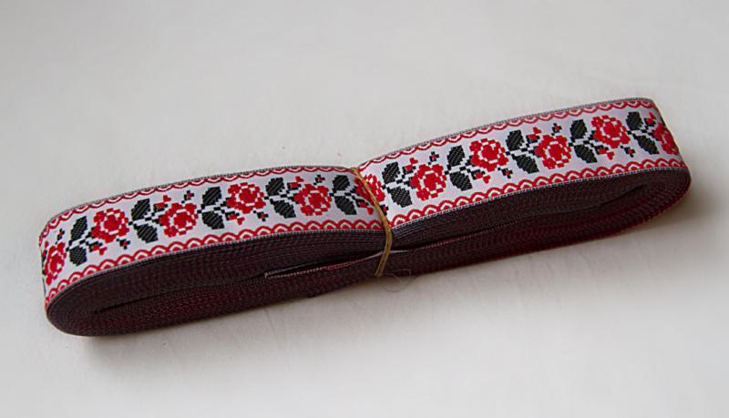 Фото Кружево ,тесьма ,сетка,резинка, Тесьма цветочная Тесьма  декоративная