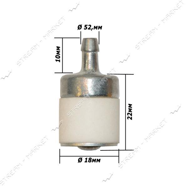 Фильтр топливный боченок пластиковый для бензопилы (FT-10)