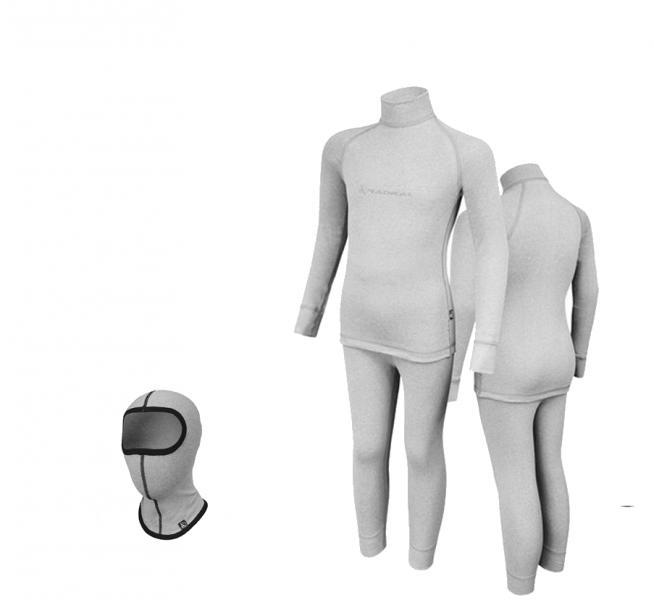 Комплект детского термобелья Radical Melange 152-158 Светло-серый