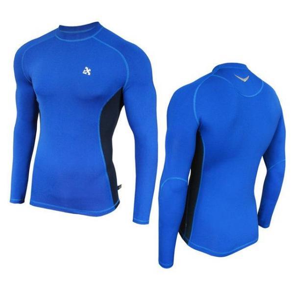 Компрессионная спортивная кофта Radical Fury Duo LS Голубой с синим XXL