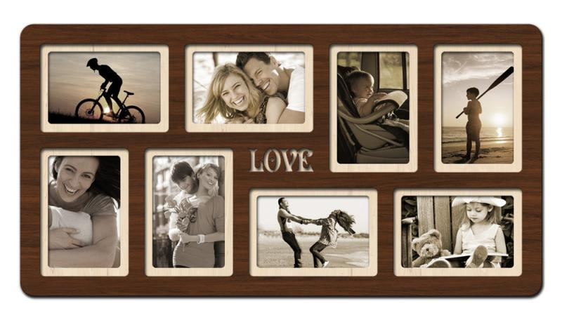 "Фоторамка коллаж ""Love"" 65х34 см (H8-008A)"