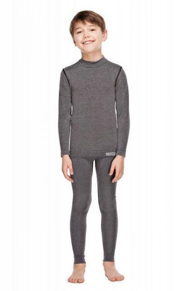 Комплект детского термобелья Haster Merino Wool 116/122 Серый