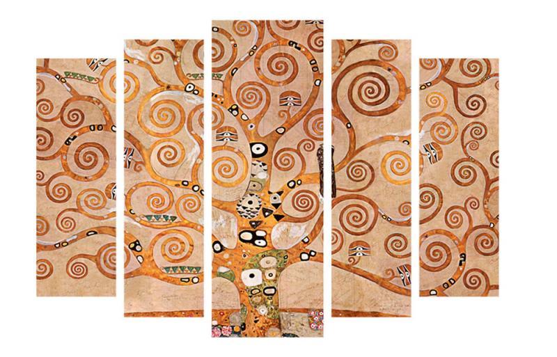 Модульная картина Декор Карпаты 120х80 см Дерево (M5-81)