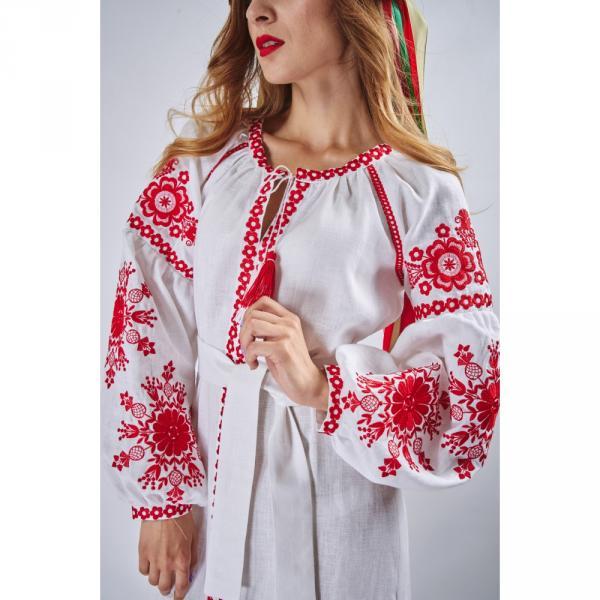Сукня в стилі бохо з вишивкою Фантазія