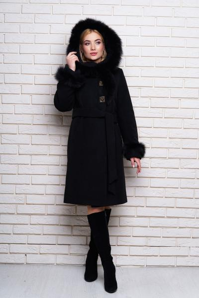 Пальто зимове кашемірове