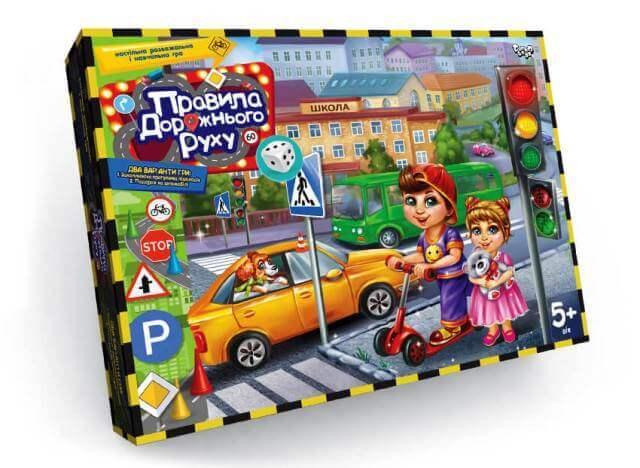 Настольная игра Правила дорожного движения Danko Toys
