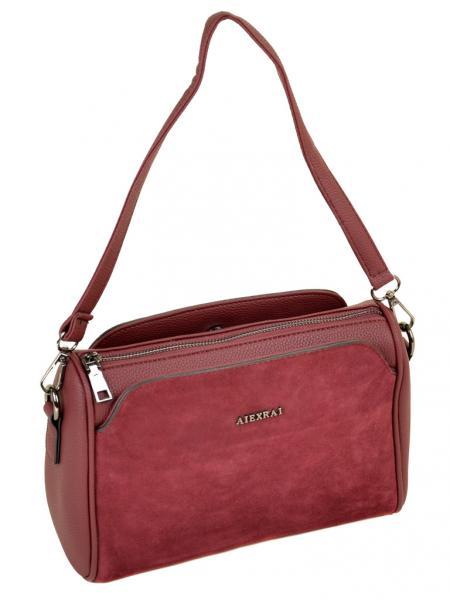 Фото  Женская сумка кожа-замш ALEX RAI Артикул 10-01   5076-2 в ассортименте