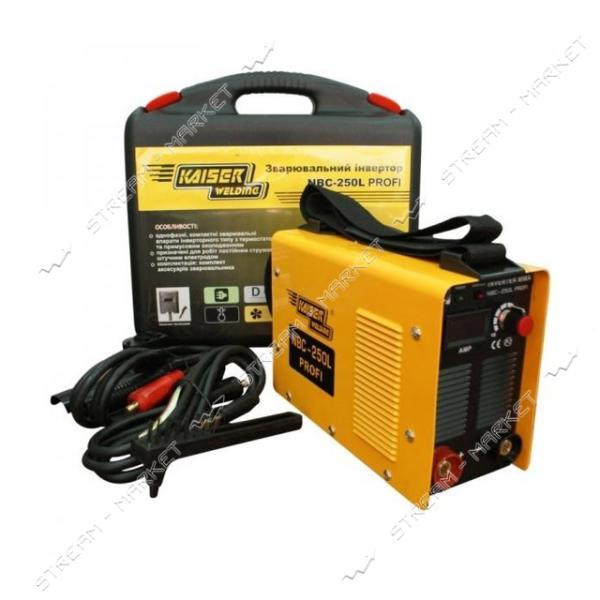 Инверторный сварочный аппарат KAISER NBC-250 L Profi электр.1.6 - 5.0 мм