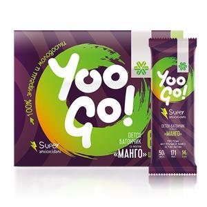 Detox-батончик со вкусом «Манго» - Yoo Gо