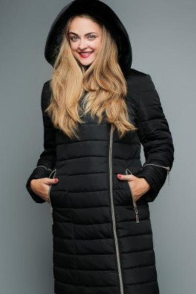 Куртка женская №47 (чёрный) БАТАЛ