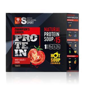 Сбалансированный суп с высоким содержанием белка. Натуральный томат: для гурманов, спортсменов и тех, кому надоели сладкие коктейли.