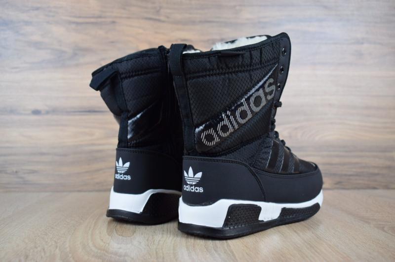 Фото  Adidas Winter Black (36-41)