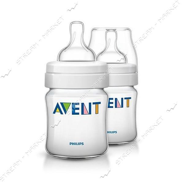 Бутылочка для кормления Avent Classic 120мл 2шт SCF560/27