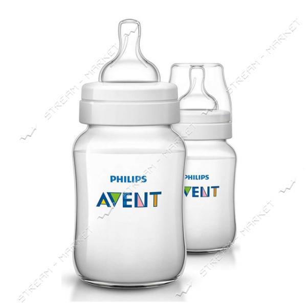 Бутылочка для кормления Avent Classic 260мл 2шт SCF563/27