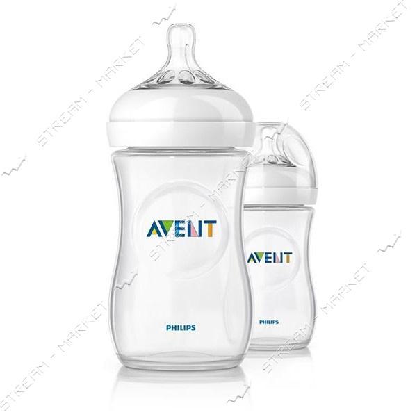 Бутылочка для кормления Avent Natural 260мл 2шт SCF693/27